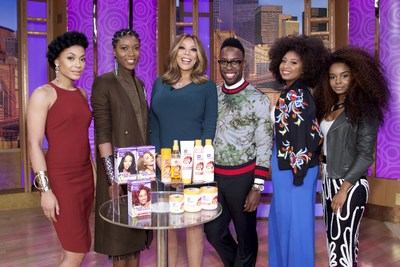 Wendy Williams and celebrity stylist Johnny Wright with beauty and fashion influencers, who showcased the latest fashion trends and hottest hairstyles for natural hair using Dark and Lovely Au Naturale and Dark and Lovely Fade Resist Rich Conditioning Color.
