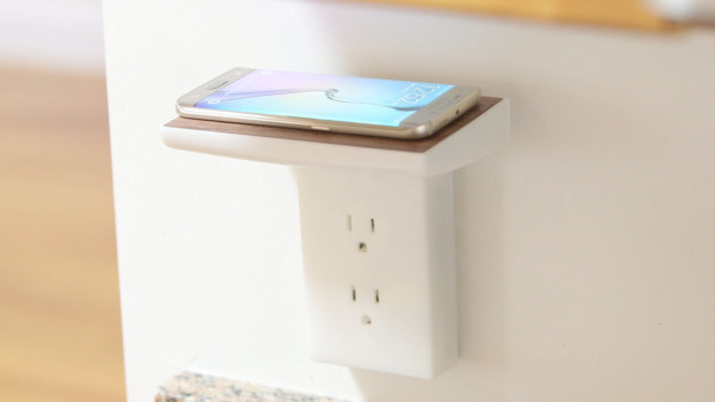 WallJax, the Completely Wireless Phone Charger that Makes the Home Elegant and Tech-Savvy, Ending Soon on Indiegogo
