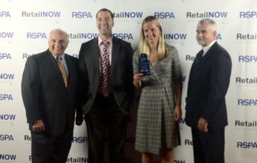 RetailNOW 2012 awarded Revel Systems iPad POS 'The innovative solution award' for POS