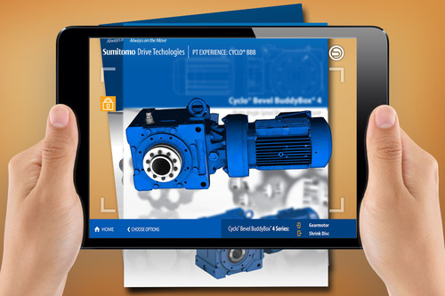 Sumitomo Machinery Corporation of America has announced the release of the 'PT Experience Cyclo(R) Bevel BuddyBox(R) (BBB)' mobile app for iPad. The custom augmented reality (AR) technology, created by Gravity Jack, allows a user to view and ...