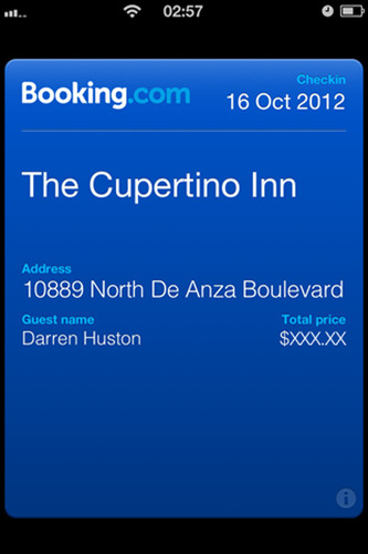 16 October 2012. Booking.com enables Passbook on latest release of iPhone app. Booking.com announces today that  ...