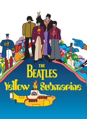 The Beatles' Yellow Submarine set for theatrical release in May.  (PRNewsFoto/EMI/Apple Corps Ltd.)