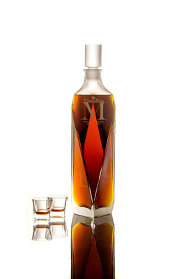 The Macallan 'M' achieves a New World Record price at US $628,000 at Sotheby's Hong Kong.  (PRNewsFoto/The Macallan)