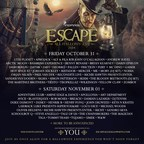 Official 4th Annual Escape All Hallows' Eve Festival Artwork. (PRNewsFoto/Insomniac)