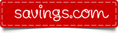 Savings.com logo.
