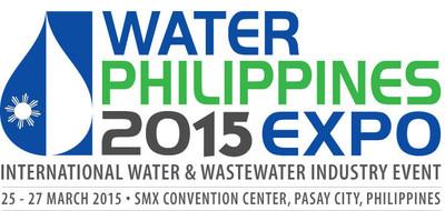 Water Philippines 2015 Logo. (PRNewsFoto/UBM Asia (Malaysia))