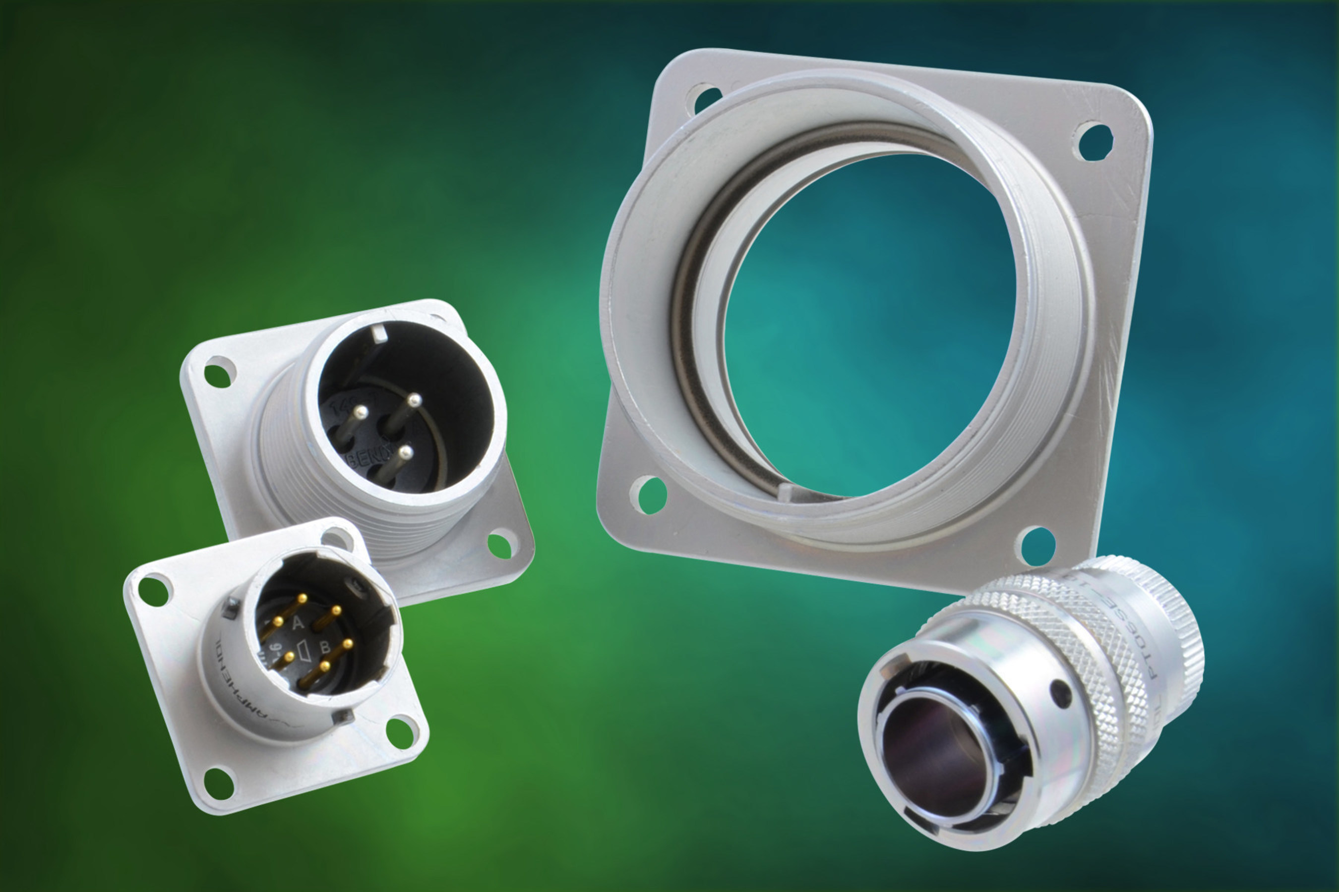 Amphenol Industrial Enhances Standard Shell Plating on Connectors for Better Resistance to Harsh