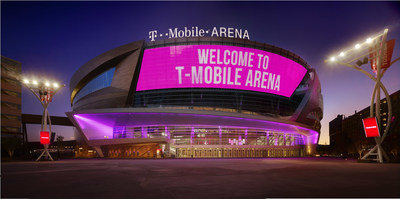 T Mobile Arena Exterior Photo Credit Francis George: The largest arena in Las Vegas was designed to capture the defining aspects of the city, with copper siding to represent the desert and sweeping balconies accompanied by glass walls to embody the elegance of Las Vegas Boulevard. Photo credit: francisandfrancis