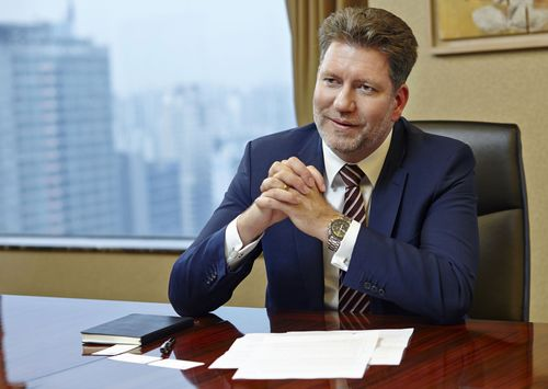 Joe Doering joins the board of directors at Kathrein, leading specialist in global communication solutions (PRNewsFoto/Kathrein Werke KG)