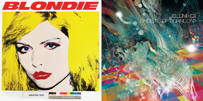 "Blondie 4(0) Ever includes ""Greatest Hits: Delux Redux"" & ""Ghosts of Download"" (PRNewsFoto/Blondie)"
