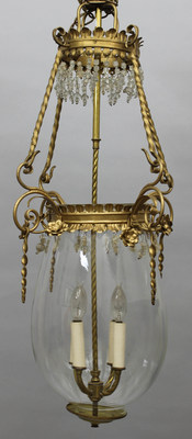 "Jacqueline Kennedy's ""sweet little chandelier"" from her home in Washington, D.C. before moving to the White House as First Lady spotlights The Potomack Company's Presidential, Historical and Political auction on November 5 (www.potomackcompany.com)"