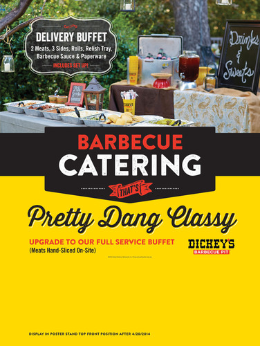 New Dickey's Barbecue Pit Opens in Logan. (PRNewsFoto/Dickey's Barbecue Restaurants) ...