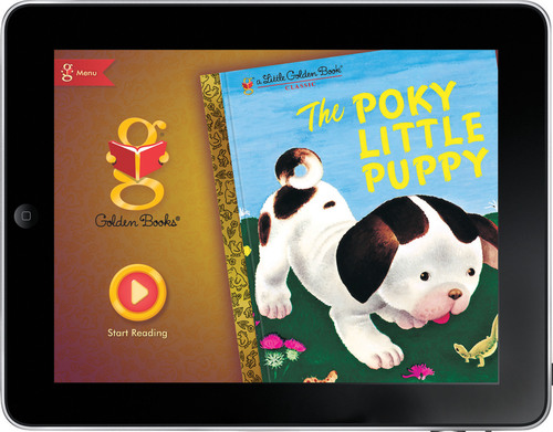 Random House Children's Books Releases App Based on Little Golden Book Classic, THE POKY LITTLE PUPPY.  (PRNewsFoto/Random House Children's Books)