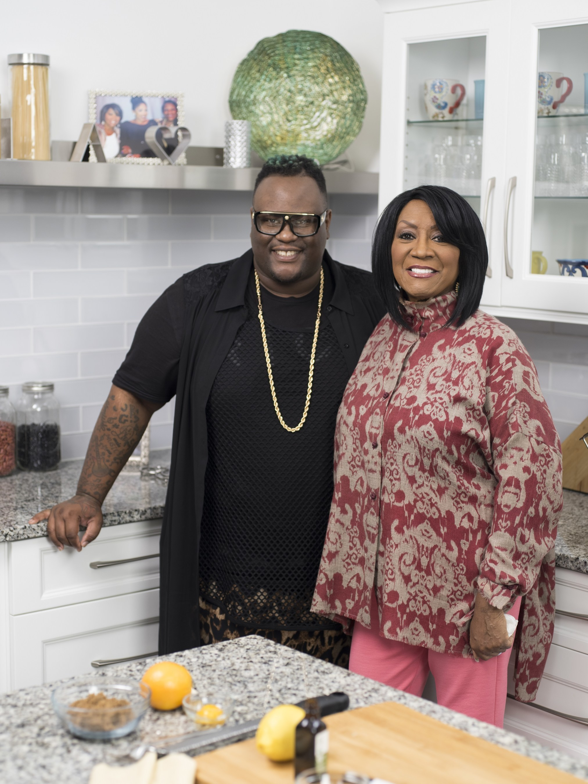 Patti Labelle Welcomes Viral Video Sensation James Wright Chanel For Evening Of Cooking, Music And Laughter In Special Event 'Patti Labelle's Holiday Pies'