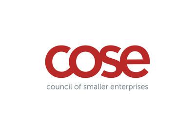 Council of Smaller Enterprises (COSE) logo. (PRNewsFoto/Council of Smaller Enterprises (COSE)) (PRNewsFoto/COUNCIL OF SMALLER ENTERPRISES)