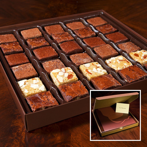 Gourmet Brownies Online for Corporate or Business Gifts. (PRNewsFoto/F. d'Anconia Brownies) (PRNewsFoto/F. ...