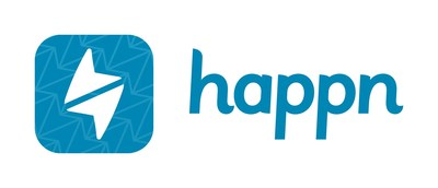 "Happn unveils new app icon, ""See You There,"" feature."