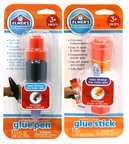 Introducing Elmer's Early Learners, a first-of-its-kind product line designed to meet the specific learning and developmental needs of preschool-age children. The line includes a glue pen and glue stick that help children develop fine motor skills while encouraging creative and independent play. The glue stick is available at all Target stores (MRSP $2.19). The glue stick and glue pen are available at select Wal-Mart stores and on Walmart.com (MSRP $2.19).  (PRNewsFoto/Elmer's(R) Products, Inc.)