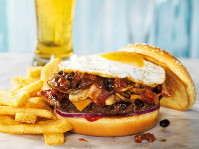 Red Robin Serves Up The Cure Burger for Holiday Hangover Relief. (PRNewsFoto/Red Robin Gourmet Burgers, Inc.)