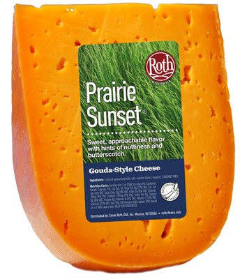 Roth Prairie Sunset, an American original cheese from Emmi Roth USA, brings home a Silver Award at the 2016 World Cheese Awards. Hand-crafted in Wisconsin, Prairie Sunset is a sweet, approachable cheese with undertones of butterscotch.