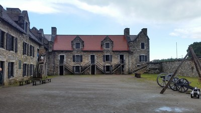 Injured veterans recently toured Fort Ticonderoga with Wounded Warrior Project in Ticonderoga, N.Y. During the tour, warriors saw many areas and features, including officers' quarters. Image provided by warrior Eddie Carliell.