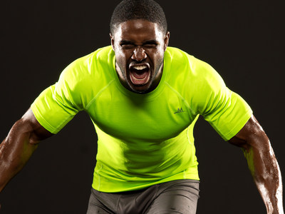 MISSION VaporActive Brand Ambassador Reggie Bush (Photo Credit: Therese Sommerseth)