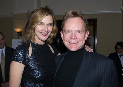 AFA Honorary Board Co-Chairs, Brenda Strong and Stuart Bell (PRNewsFoto/American Fertility Association)