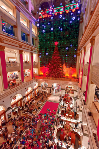 A Philadelphia tradition since 1956, the free Christmas Light Show at Macy's in Center City illuminates the  ...