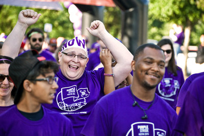 PurpleStride participants Wage Hope in the fight against pancreatic cancer
