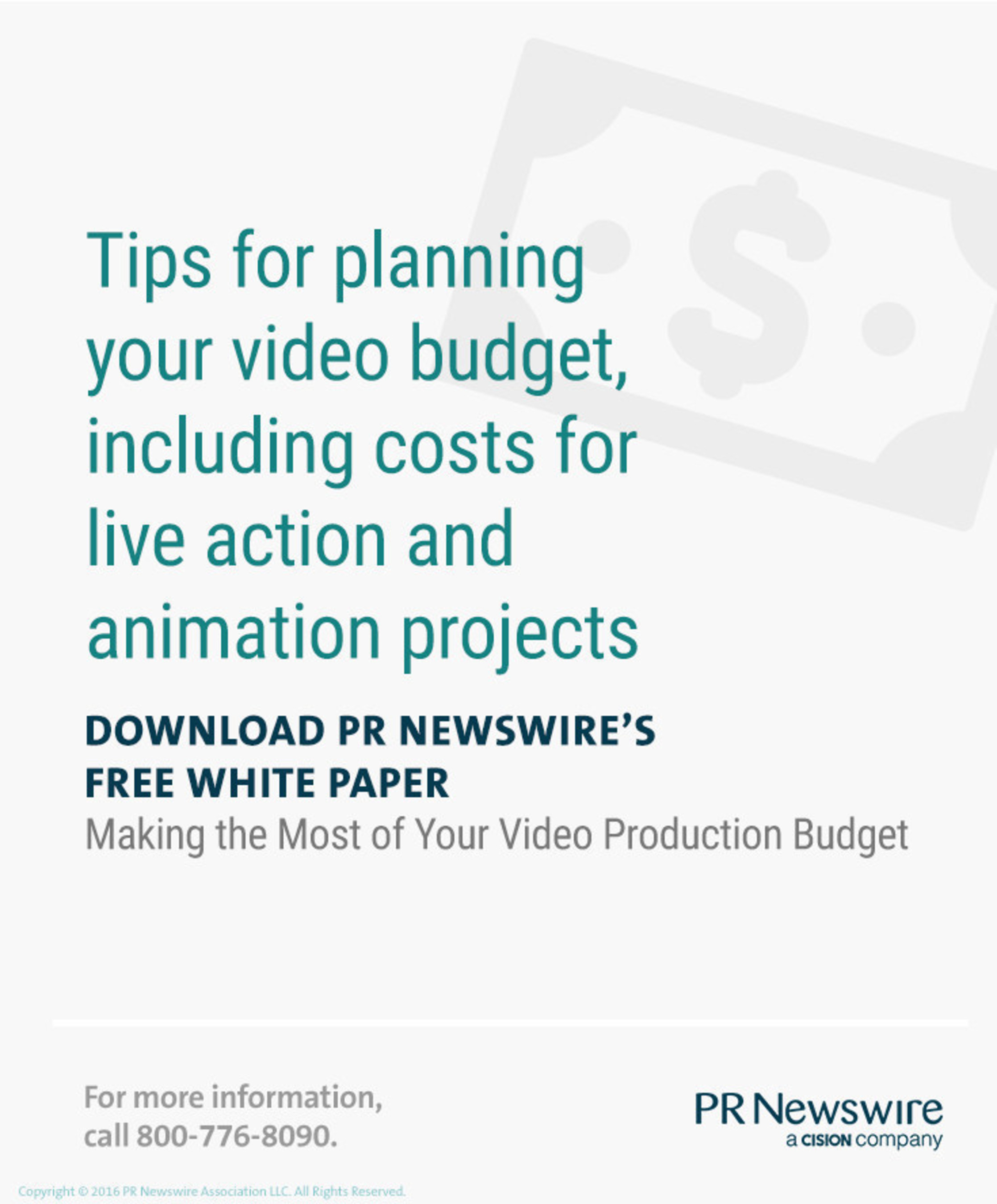 Making the Most of Your Video Production Budget