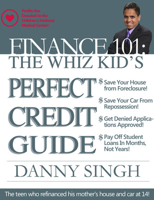 Through his book, Danny will share the strategies that allowed for him to be successful with his family's finances with the goal that other consumers will be able to save thousands, establish excellent credit, and have more money for retirement without having to stress about repaying debt or needing to declare bankruptcy. Danny also hopes to raise thousands from the book sales for HIV treatment research.  (PRNewsFoto/Students' Finance Success)