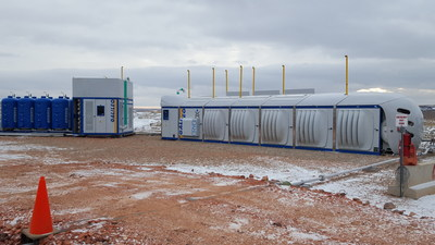 SPATCO Energy Solutions completes first North American installation of Galileo CryoBox(R) for Terra Energy Group. This first site-based, transportable LNG production unit is turning gas that would otherwise be flared into 7,800 to 8,500 LNG gallons per day (based on production output from the wells) to power Oil & Gas field operations in North Dakota.