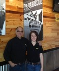Derek and Jennifer O'Hara open their second Dickey's Barbecue location in Greeley Thursday.