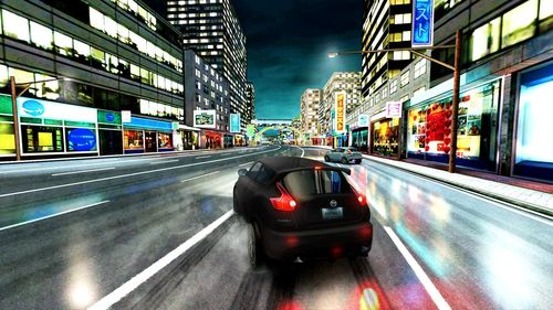 Nissan Juke-R and Juke NISMO in Asphalt 7 Heat – image of the game