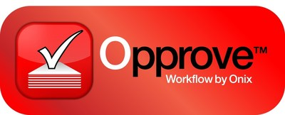 Opprove Workflow by Onix(TM) has been named a Trend-Setting Product of 2016 by KMWorld. Opprove is an easy-to-use workflow process tool that allows Google Apps for Work users to create a workflow without requiring programming skills or other IT support.