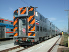 Virginia Railway Express (VRE) Gallery-type Bi-Level Passenger Car.  (PRNewsFoto/Sumitomo Corporation of America)