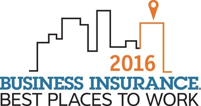 Business Insurance Award - Best Places to Work in Insurance