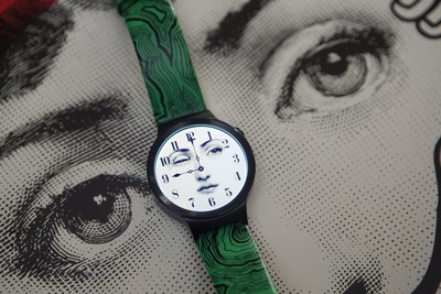 Huawei Watch with the special Fornasetti design (PRNewsFoto/Huawei)