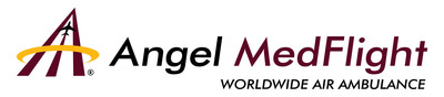 Angel MedFlight Worldwide Air Ambulance.  (PRNewsFoto/Angel MedFlight Worldwide)