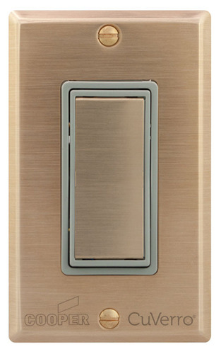 Cooper Wiring Devices Introduces the Industry's First Line of Switches and Wallplates Made with EPA