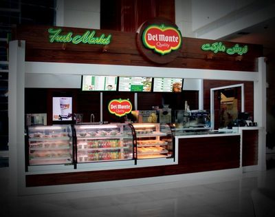Del Monte Fresh Market at Abyat Mall brings a convenient and wide offering of fresh food and beverage options to consumers on-the-go.