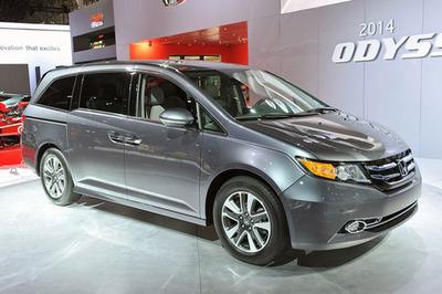 The new 2014 Honda Odyssey is available now at Howdy Honda in Austin.  (PRNewsFoto/Howdy Honda)