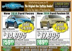 Portsmouth Ford's Labor Day Sales Event spells big savings for area car shoppers. (PRNewsFoto/Portsmouth Ford)