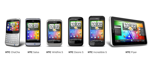 HTC LAUNCHES THREE NEW SMARTPHONES WITH HTC SENSE.  (PRNewsFoto/HTC Corporation)