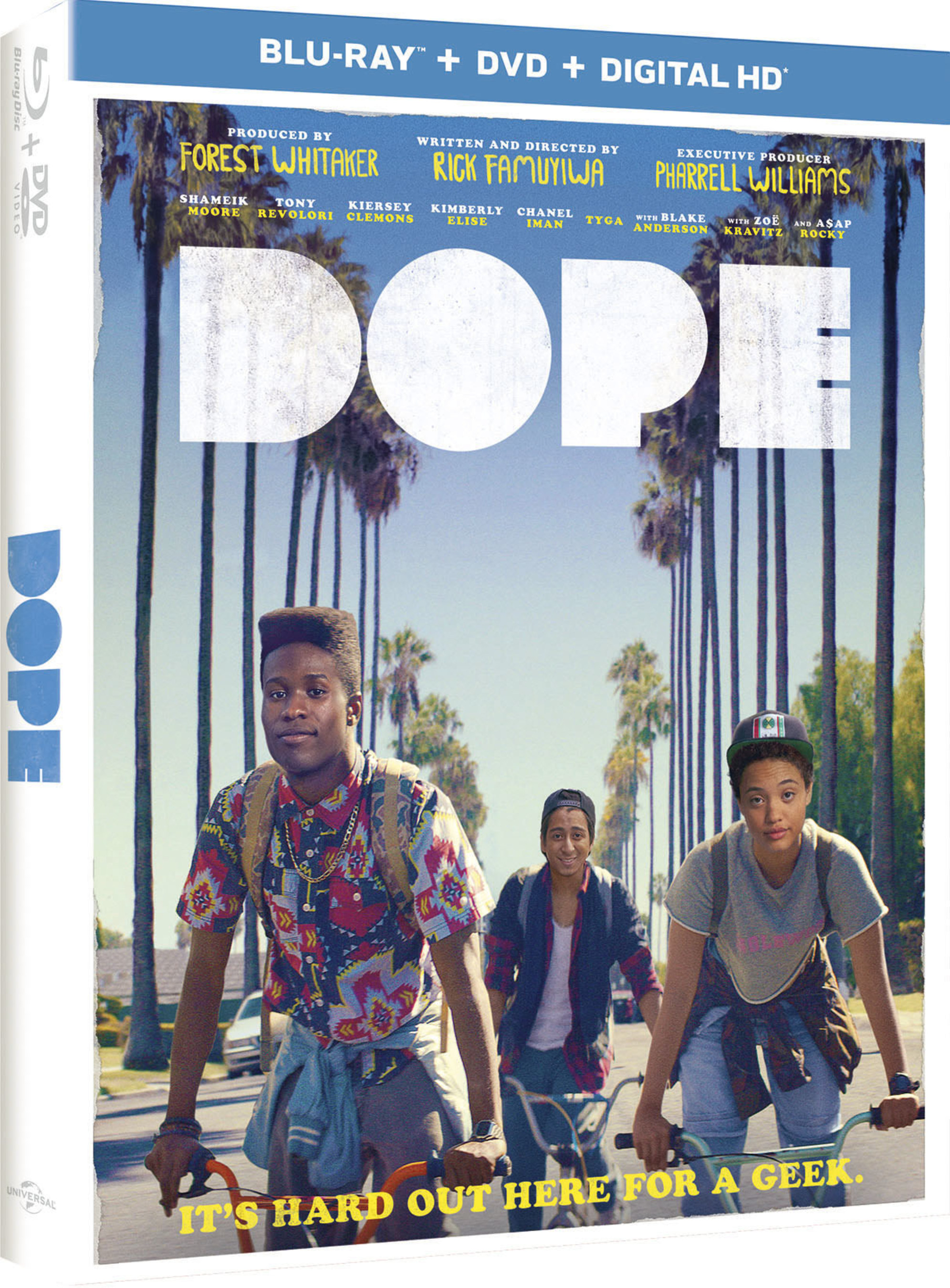 From Universal Pictures Home Entertainment: Dope