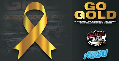 Lucas Oil Off Road Racing Series Goes GOLD for Childhood Cancer Awareness Month