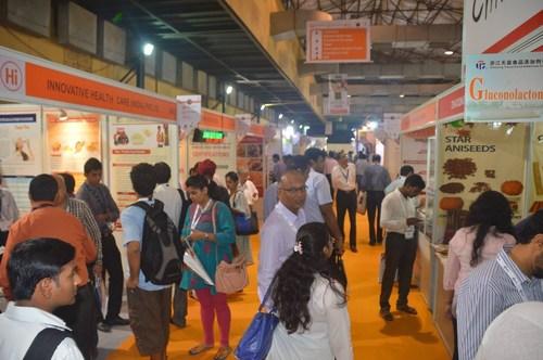 Busy show floor at Fi India (PRNewsFoto/UBM EMEA) (PRNewsFoto/UBM EMEA)