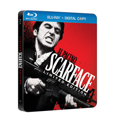 Scarface Limited Edition Blu-Ray Available September 6, 2011.  (PRNewsFoto/Universal Studios Home Entertainment)