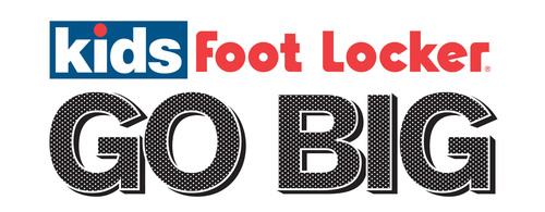 Go Big with Kids Foot Locker. (PRNewsFoto/Foot Locker, Inc.) (PRNewsFoto/FOOT LOCKER, INC.)