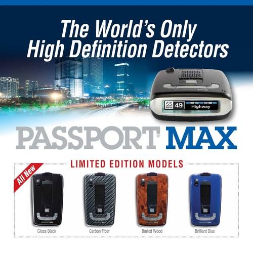 ESCORT displays Passport Max all-digital detector limited edition models (PRNewsFoto/ESCORT Inc.)